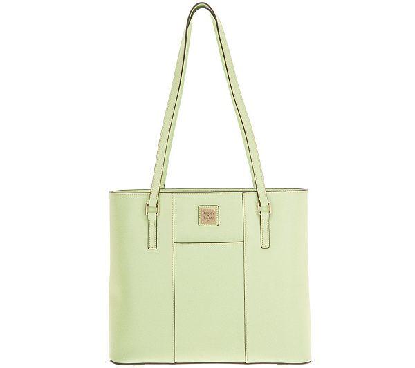 9e2ee616914 Dooney   Bourke Saffiano Lexington Tote Handbag - Page 1 — QVC.com