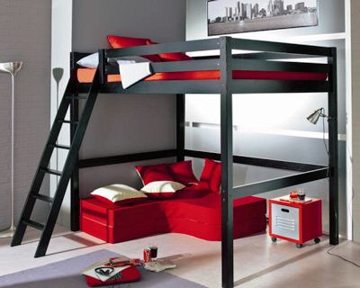 ikea chambre ado recherche google bed room pinterest chambre lit et mezzanine. Black Bedroom Furniture Sets. Home Design Ideas