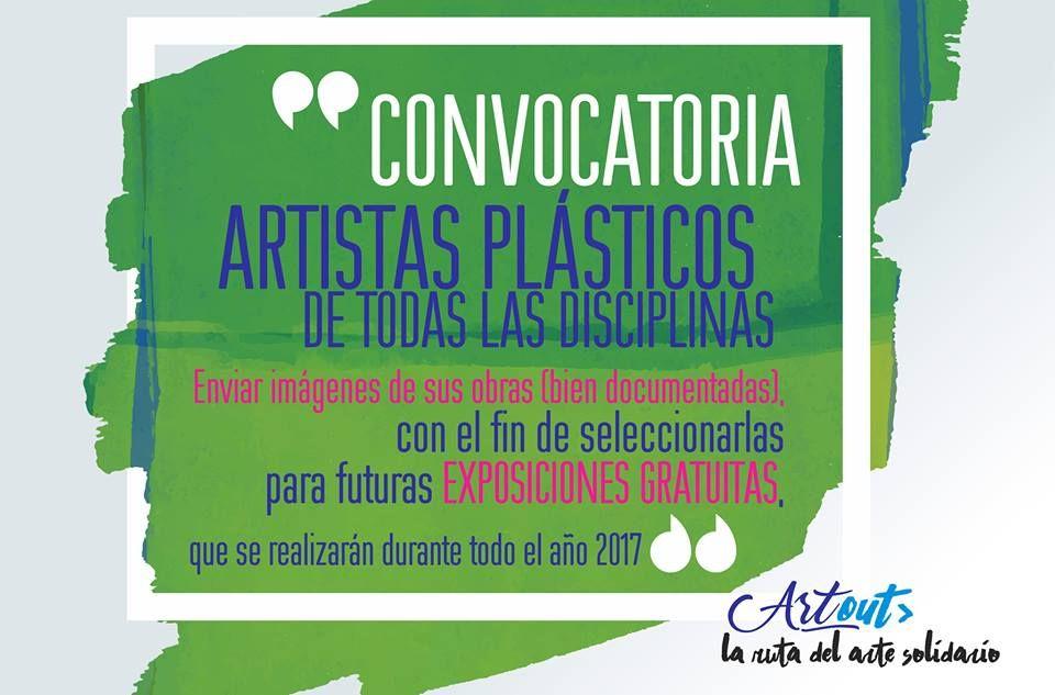 Convocatoria de Artistas para muestras multidisciplinarias Artout   Recursos Culturales