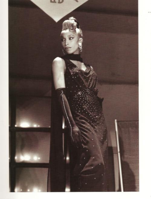 "Octavia Saint Laurent  Photo Chantal Régnault, ""Voguing and the house ballroom scene of New York City 1989-92"""
