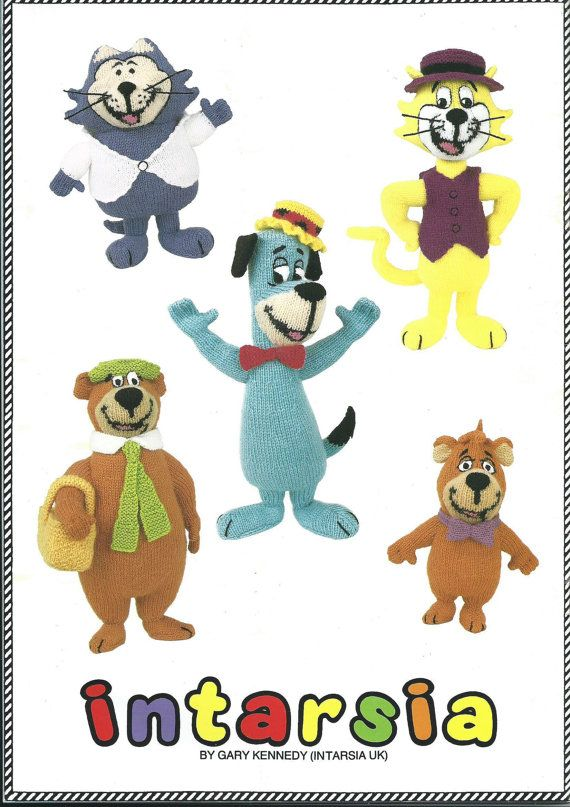 PDF File Hanna Barbera 1 Toy Knitting Pattern by RetroNeedles   how ...