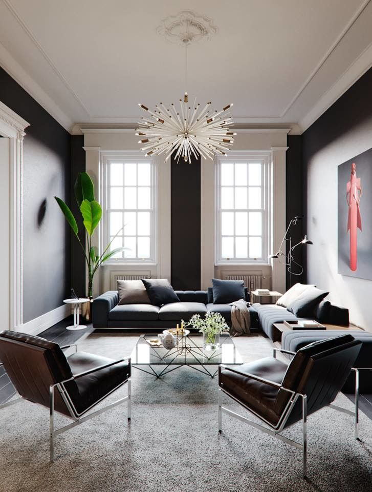 Design Narrow Living Room: Narrow Living Room [727x960][Render]