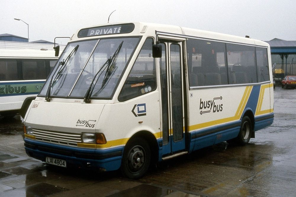Details about Ulsterbus 1804 Coleraine 1991 Irish Bus