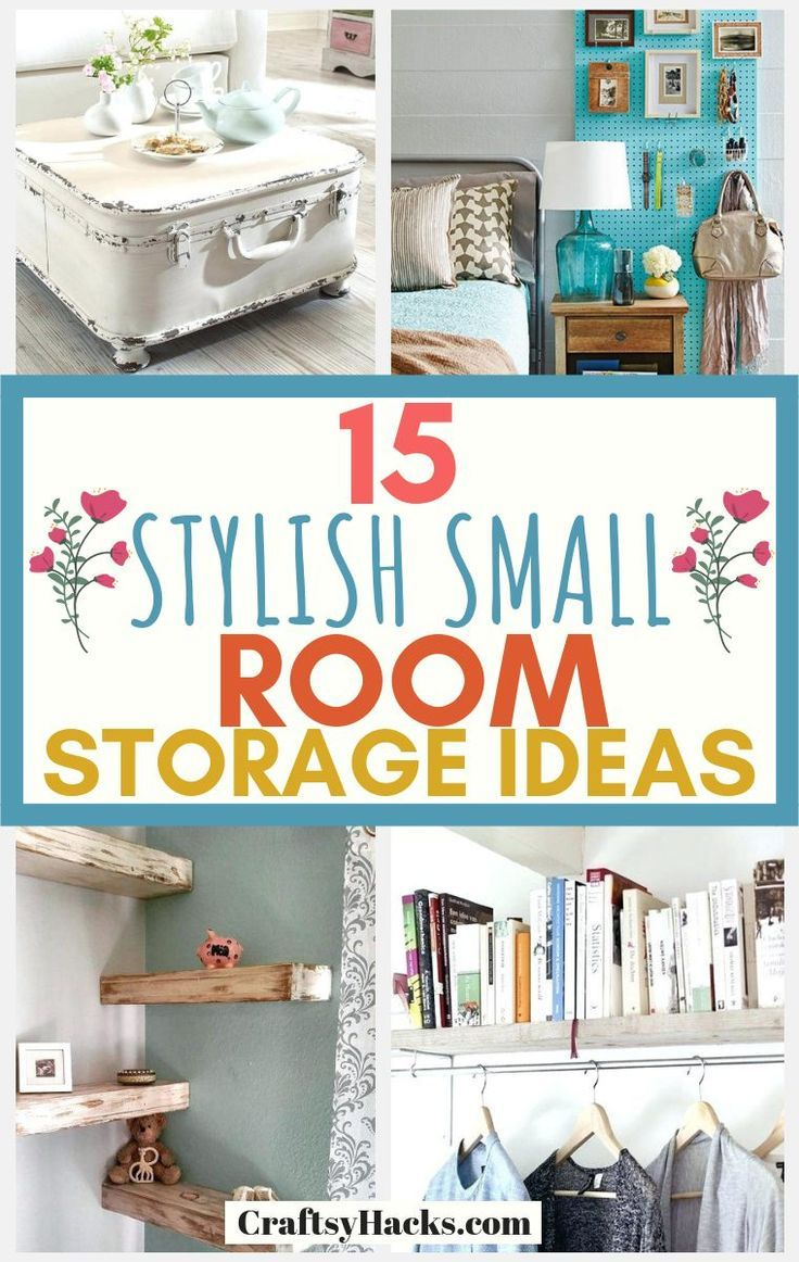15 Stylish Small Room Storage Hacks Small Space Bedroom Small