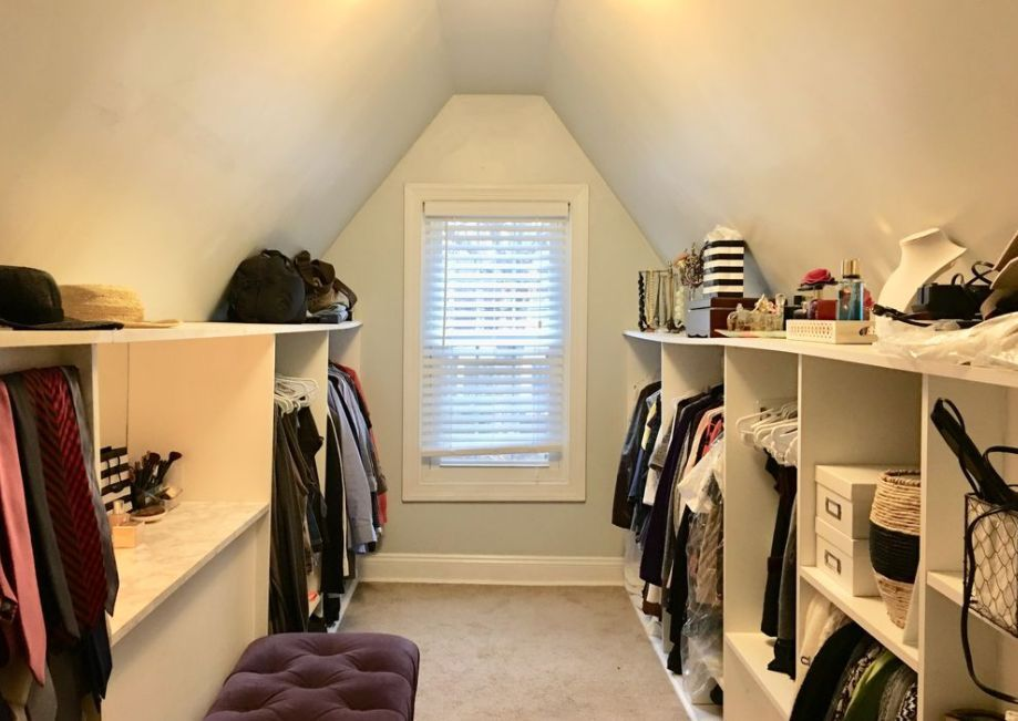 idea for dormer closet (w/out window)