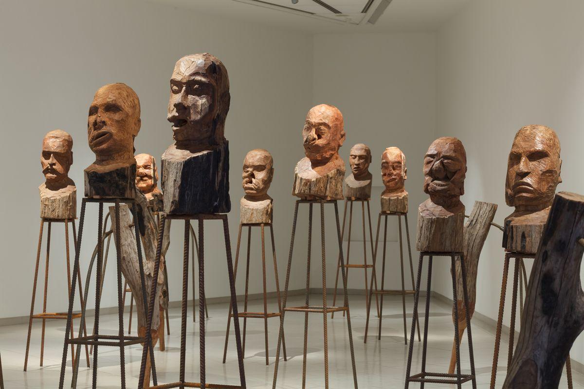 Kader Attia At Mmk Museum Fur Moderne Kunst Frankfurt Selected By Mark Dion Art Political Art Art Historian