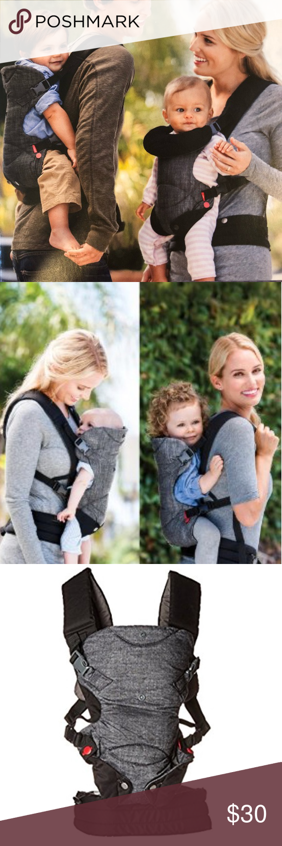 Infantino Fusion Flexible Position Baby Carrier My Posh Picks