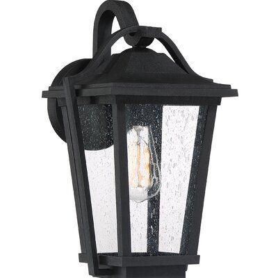 Breakwater Bay Ebenezer Outdoor Wall Lantern Size 14 75 H X 9 W