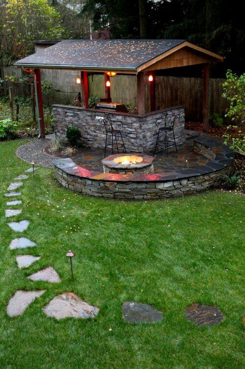 30 Grill Gazebo Ideas To Fire Up Your Summer Barbecues Grill Gazebo Backyard Outdoor Fire