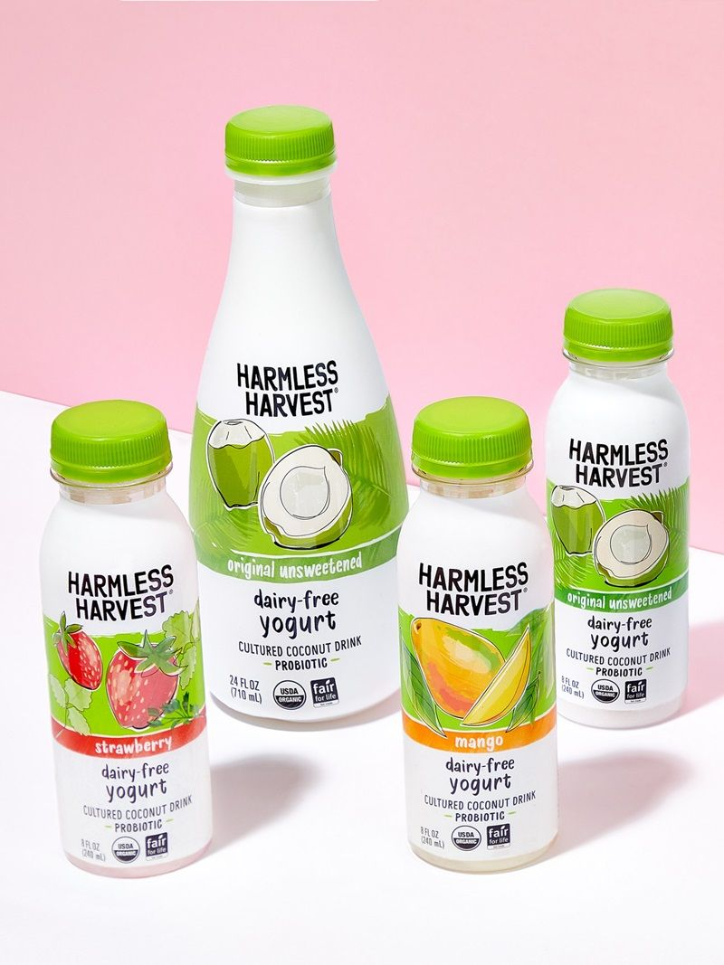 Harmless Harvest Dairy Free Yogurt Drinks Reviews Information
