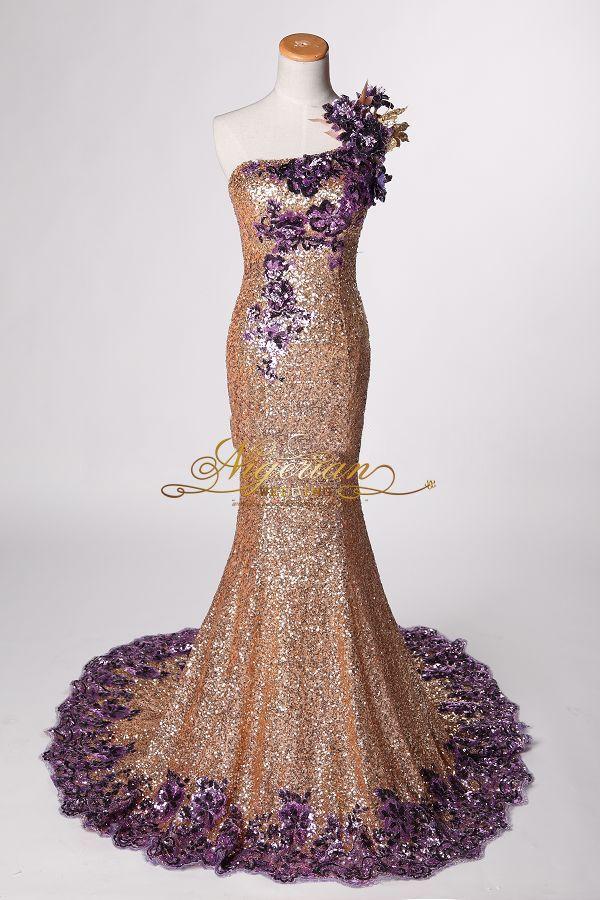 Sequin Reception Dress