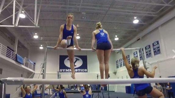 Byu Gymnastics Team Won Mannequin Challenge Gymnastics Team Mannequin Challenge Gymnastics