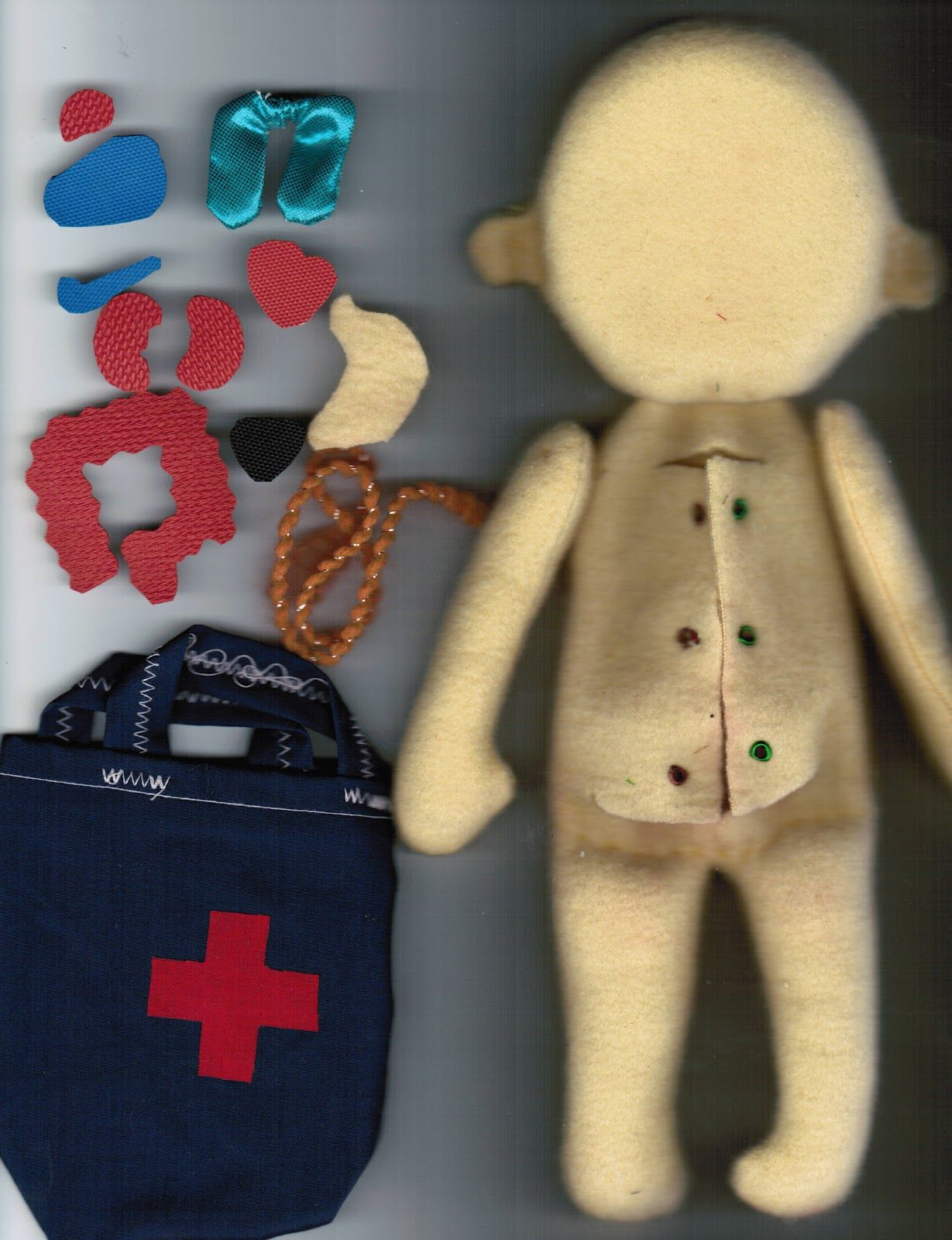 Homemade doctor doll I think my future doctor is going to love