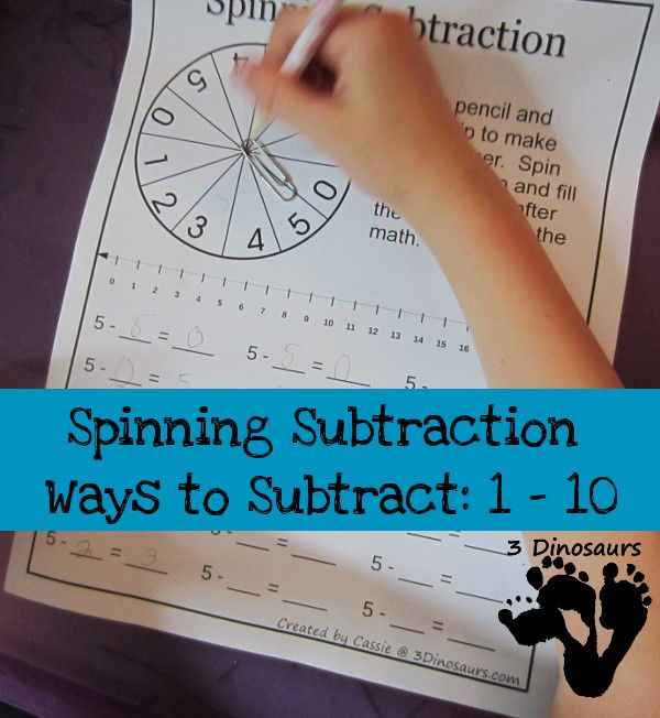 Creative subtraction worksheets and more | Pinterest | Number ...