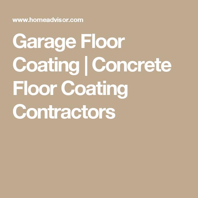 Garage Floor Coating Concrete Floor Coating Contractors