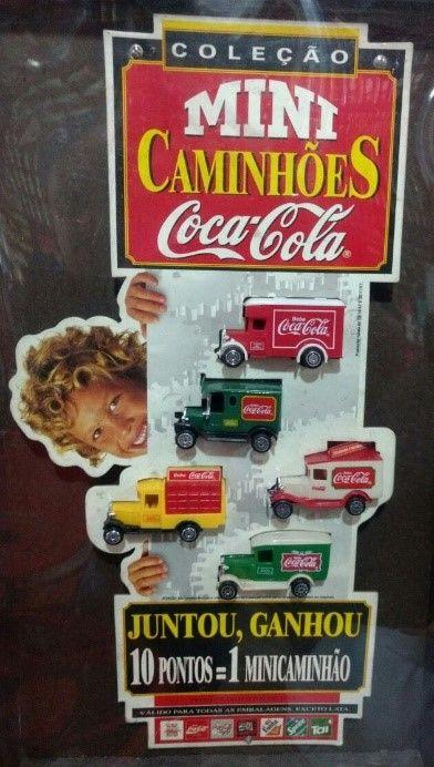 Minicaminhões da Coca-Cola