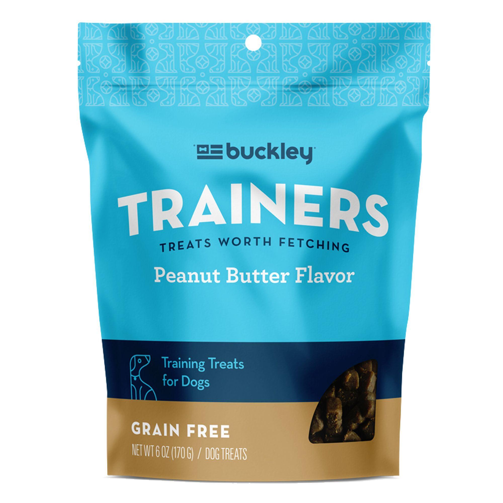 Buckley Trainers Dog Treat Grain Free Peanut Butter Dog Treats