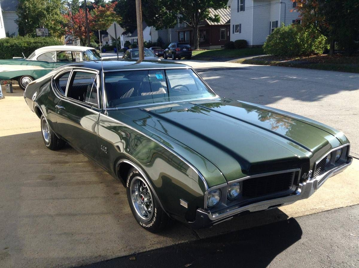 1969 Oldsmobile 442 Sport Coupe, 400 's Matching, 4 Spd