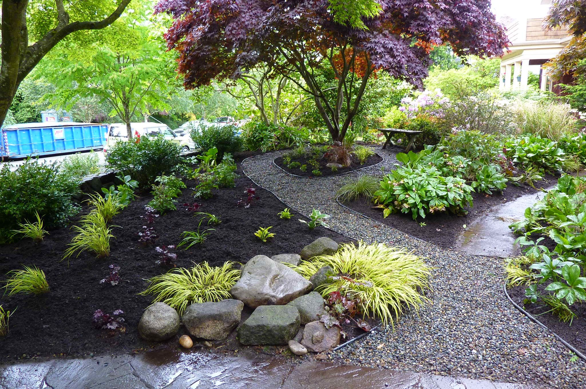 Pin By Kay Milow On Gardening Front Yard Landscaping Design Modern Landscaping Small Front Yard Landscaping