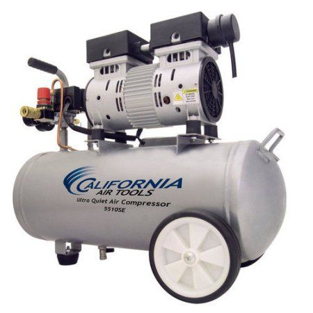 California Air Tools 5510se Ultra Quiet And Oil Free 1 0 Hp 5 5 Gallon Steel Tank Air Compressor Walmart Com Electric Air Compressor Air Compressor Air Tools