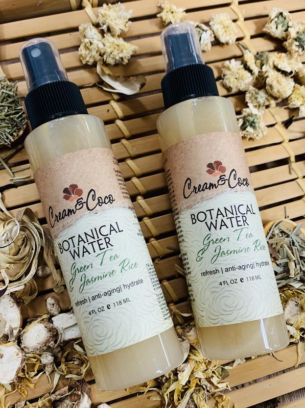 Green Tea & Jasmine Rice Botanical Water Natural skin