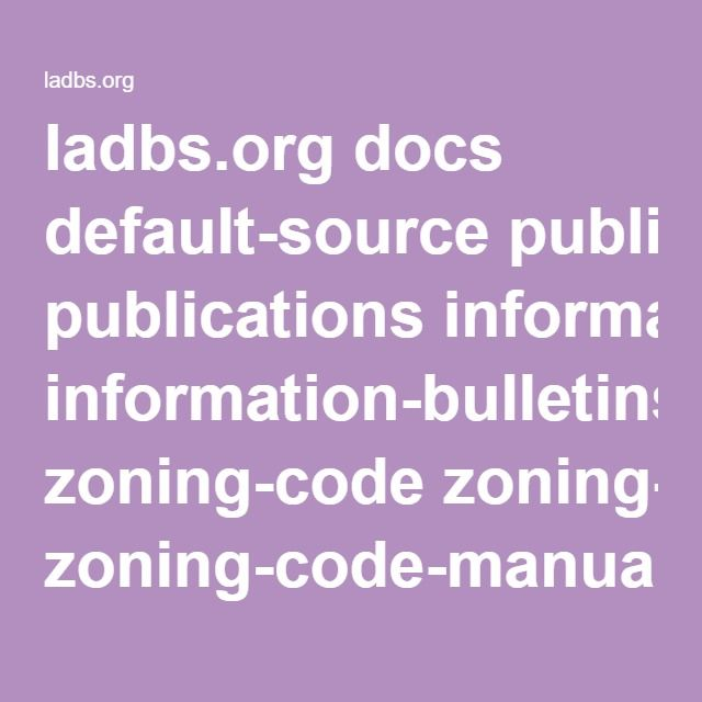 Ladbs Org Docs Default Source Publications Information Bulletins Zoning Code Zoning Code Manual And Commentary Pdf Sfvr Coding Mobile Boarding Pass Screenshots