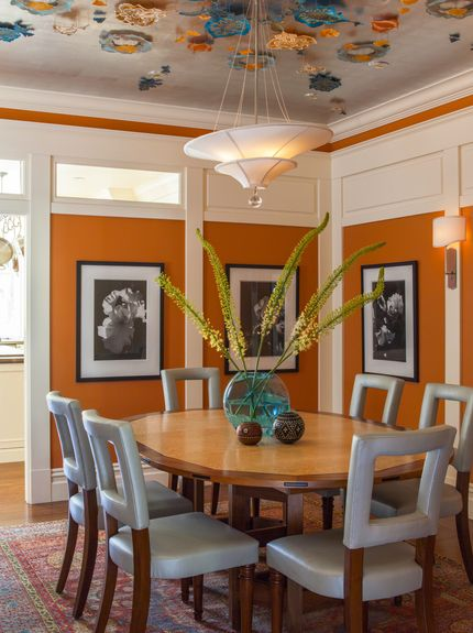 6 Common Mistakes To Avoid When Painting With Bold Color Eclectic Dining RoomsTransitional