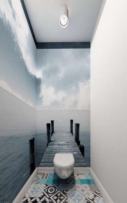 47 Ideas for bath room small shower apartment therapy #smalltoiletroom