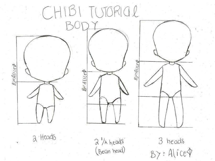 Manga Character Design Pdf : Chibi bodies drawingbody reference pinterest