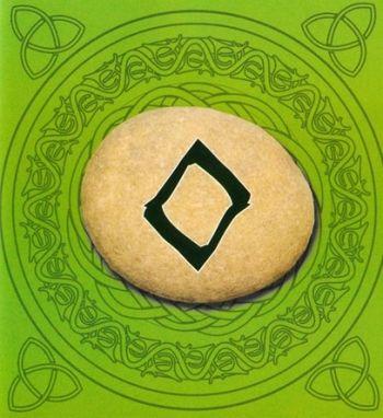 Foto Significado de la runa Inguz el dios Frey