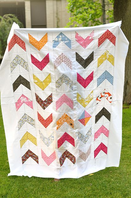 Accentuate The Positive: A Chevron Tutorial by @ACraftyFox