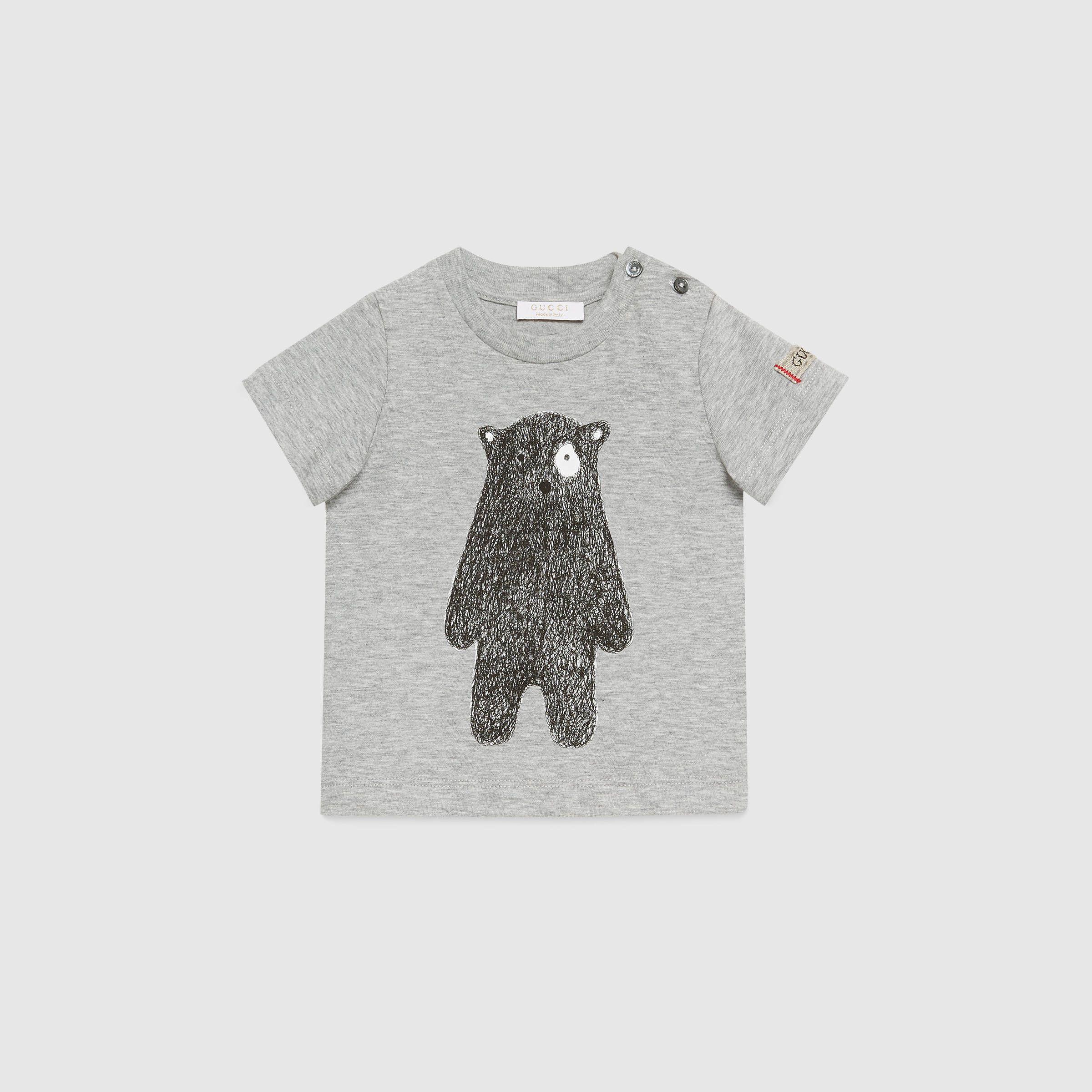 0aacc7add Gucci Children - Baby bear print cotton t-shirt - 418733X3D411263 ...