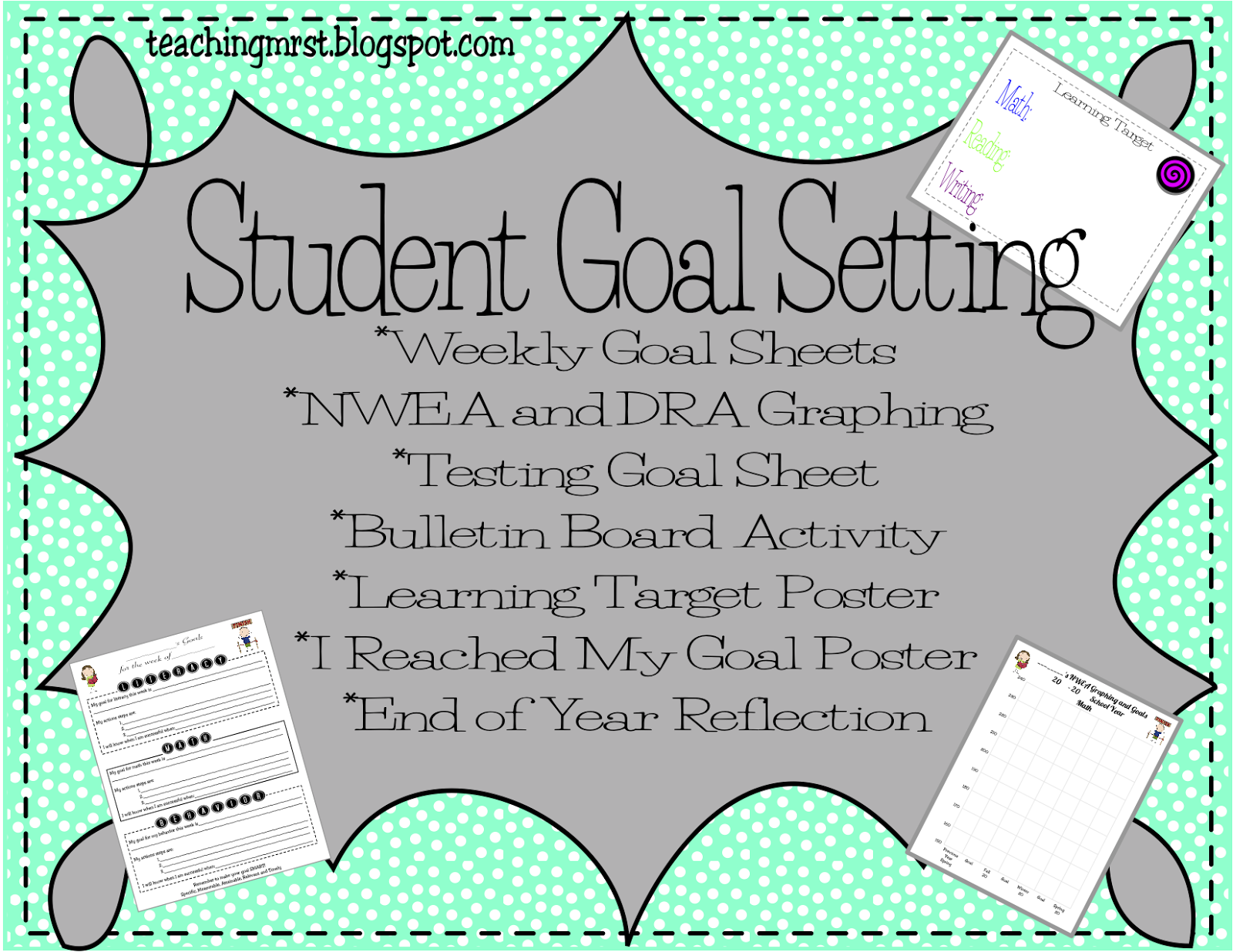 Teaching Mrs T Student Goal Setting For Nwea Dra