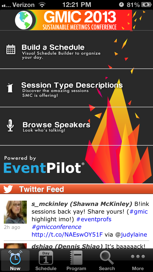 Instant Native Event App with EventPilot Express Event