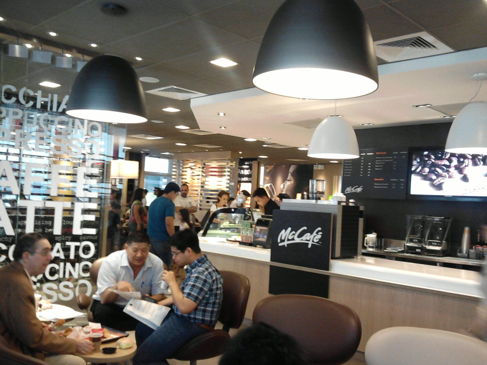 mccafe interior philippines | contemporary qsr interiors