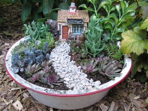 Pin By Trinh Phung On Gardening Pinterest Dish Garden Garden Beauteous Dish Gardens Designs