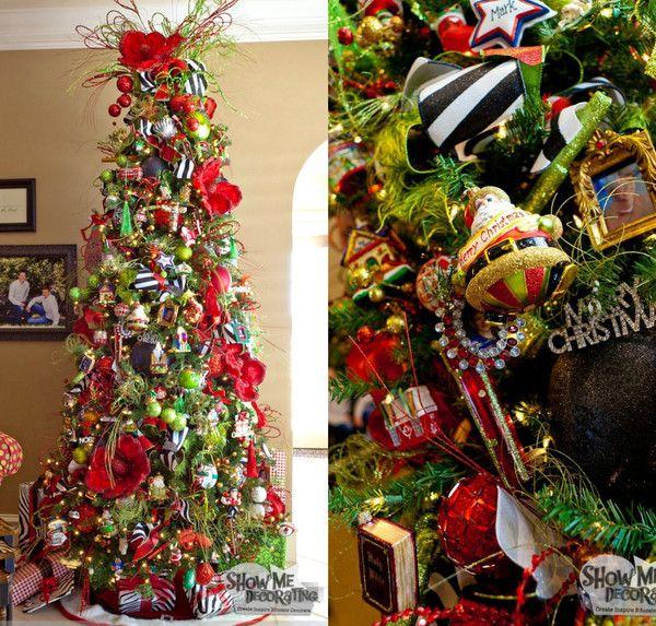 Show Me A Christmas Tree Home Tour Christmas Tree
