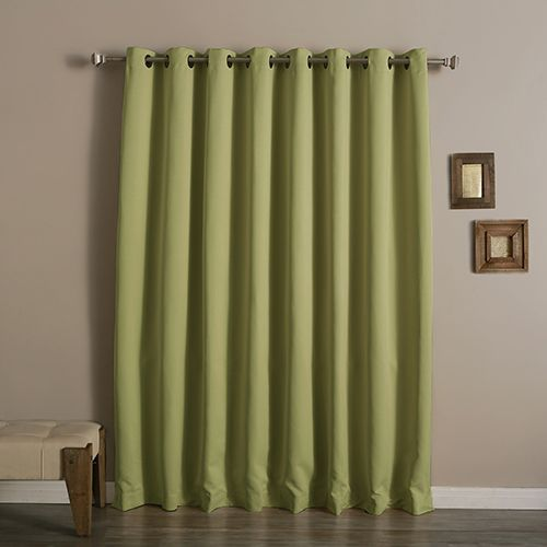 Sage 100 X 96 In Wide With Thermal Blackout Curtain Panel