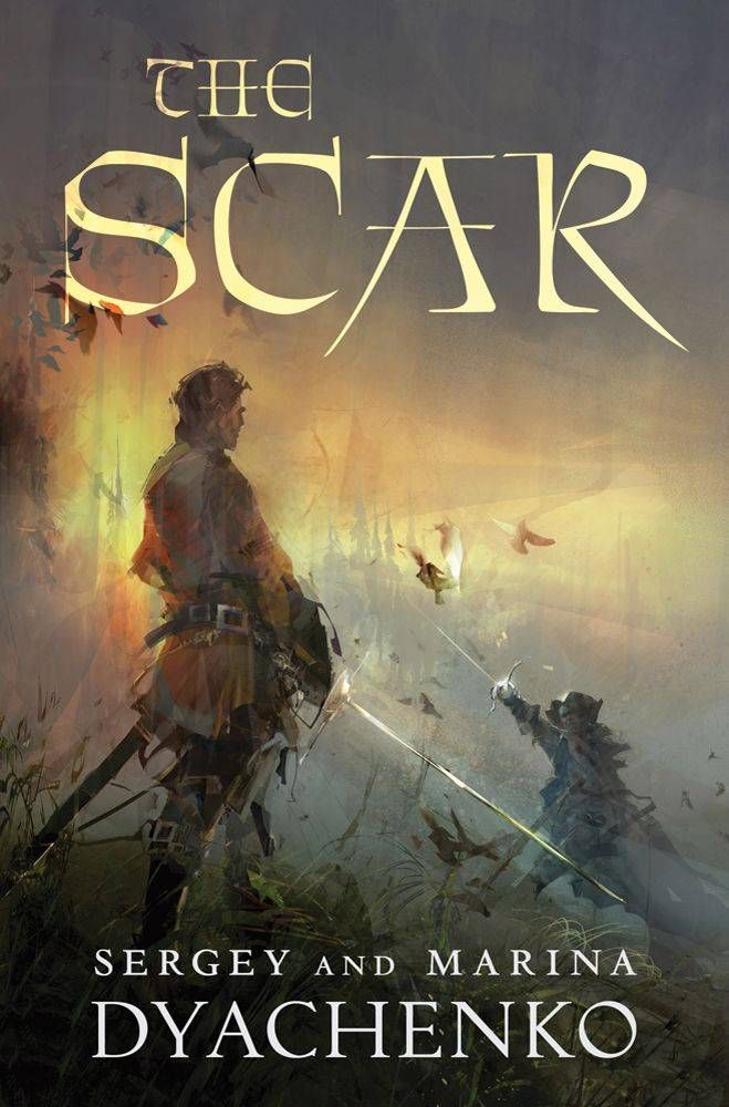 Book Cover Fantasy Jobs : The scar sergey and marina dyachenko g jpeg image