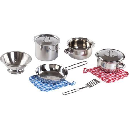 Step2 Cooking Essentials 10-Piece Set, Stainless Steel - Walmart.com