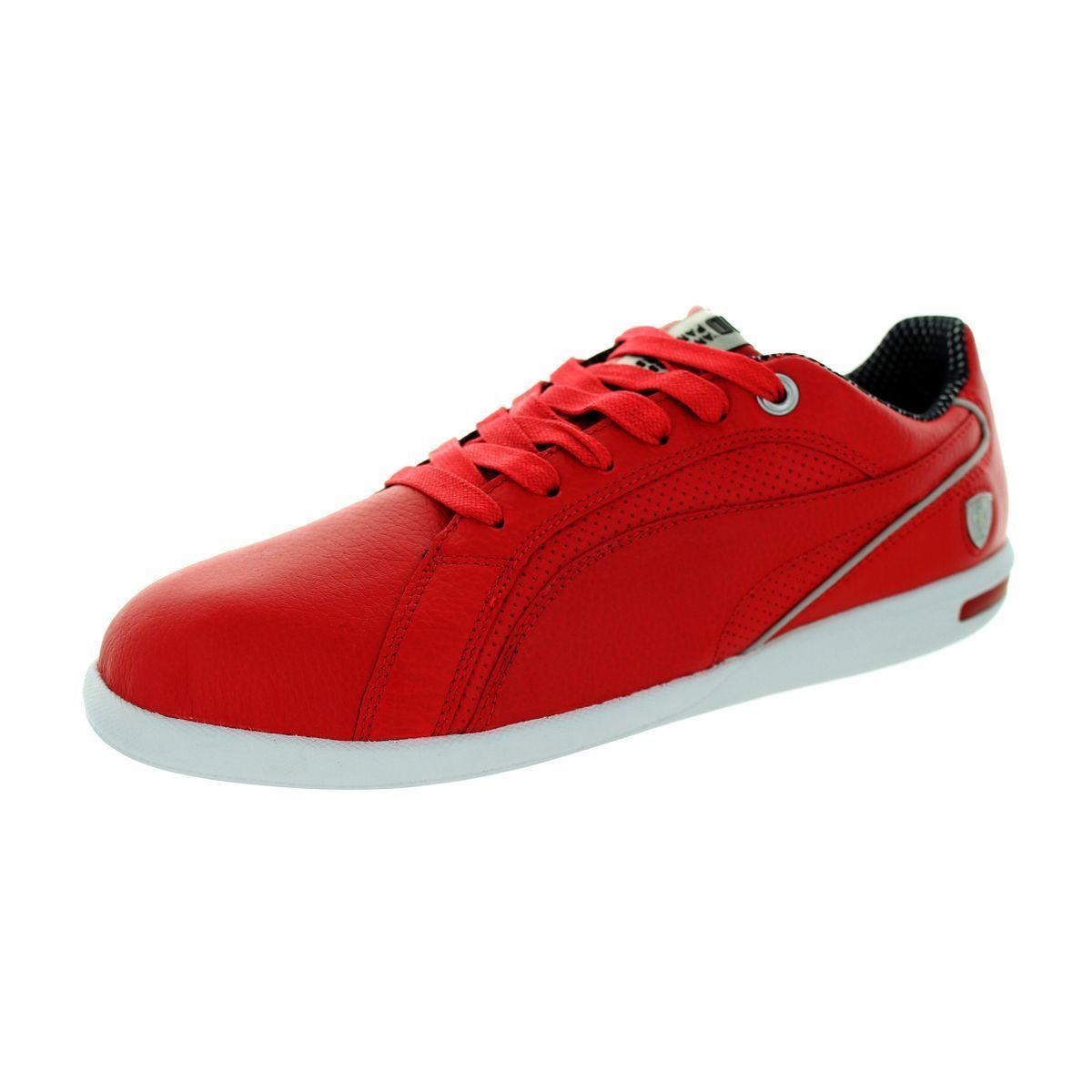 171ec00e24ae Puma Men s Primo Sf 10 Rosso Corsa Rosso Corsa Casual Shoe ...