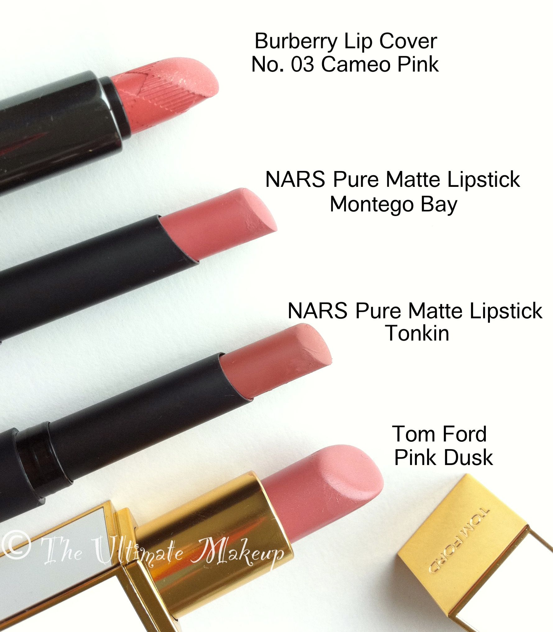 NARS Pure #Matte #Lipstick Montego Bay Comparisons #Dupes Tubes ...