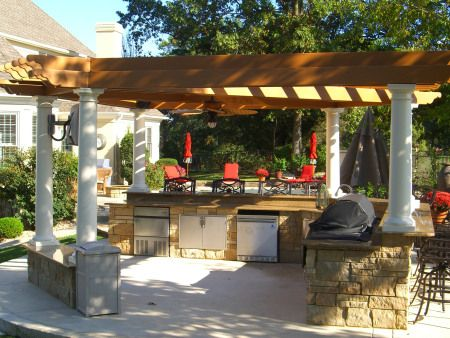 Pergolas And Panache Build Outdoor Kitchen Outdoor Kitchen Design Outdoor Patio Designs