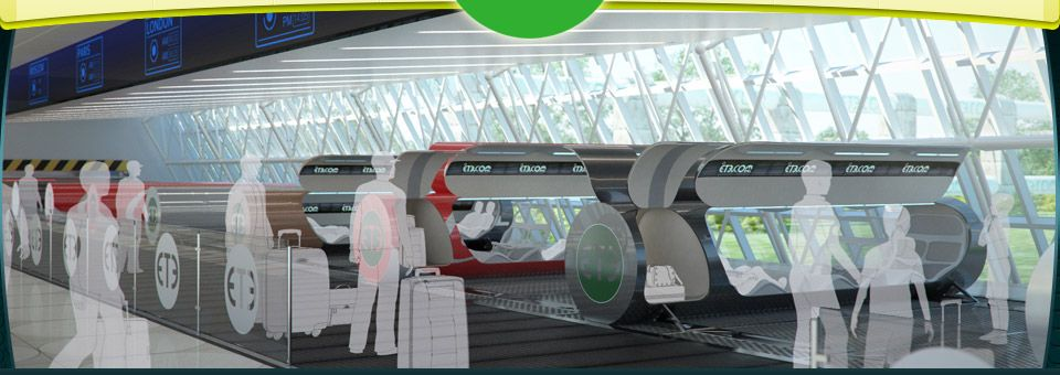 Futuristic Tube Transport System Looks To Speed Passengers