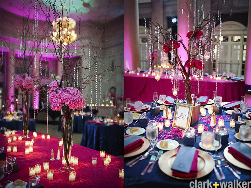 Purple Wedding Centerpieces And Cream Centerpiece Is Made Up Of