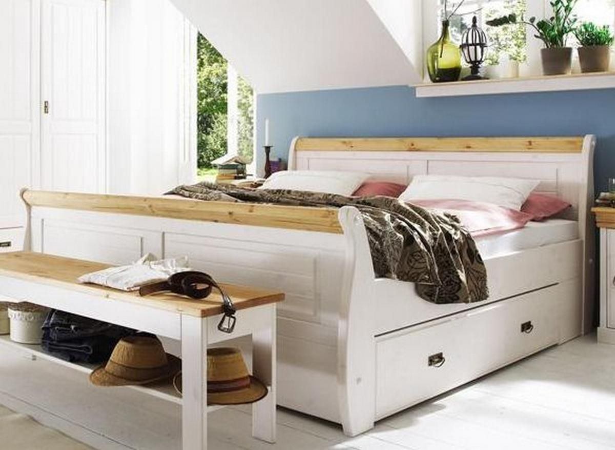 Außergewöhnlich Schlafzimmer Bett Weiß Sammlung Von Pattern Image 1200 X 878