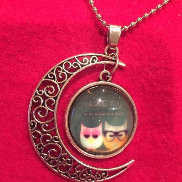 I love you to the Moon n back ❗️❗️❗️  Jewelry Necklaces