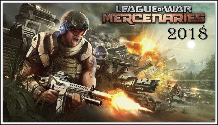 league of war mercenaries apk Моd game download cell phone games