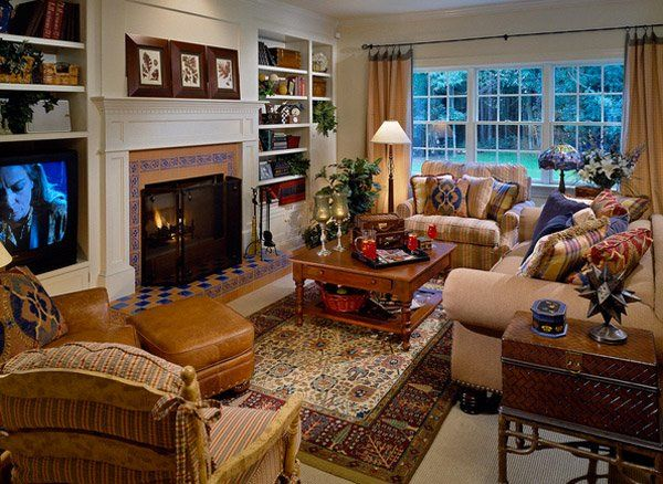 Charmant 15 Warm And Cozy Country Inspired Living Room Design Ideas