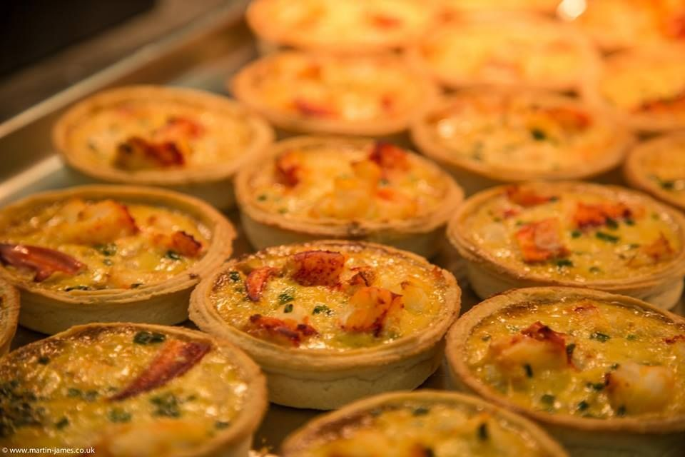 Warm Lobster Tartlets Freshly Prepared Weddings Menus Starter